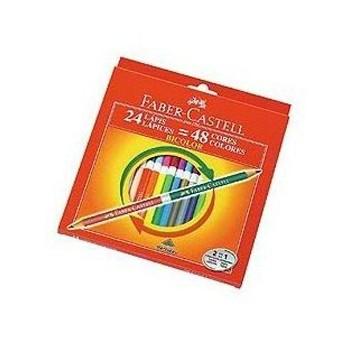 lapices-de-color-faber-castell-bicolor-x24-largos