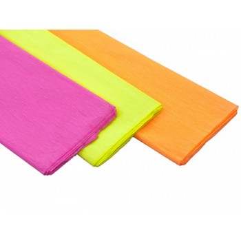 Papel crepe fluo