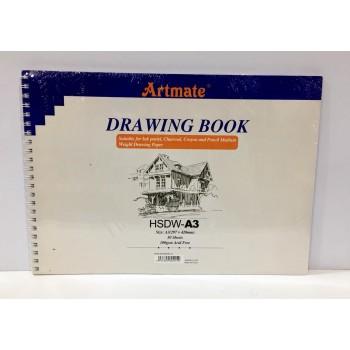 Block Artmate A3 Drawing...
