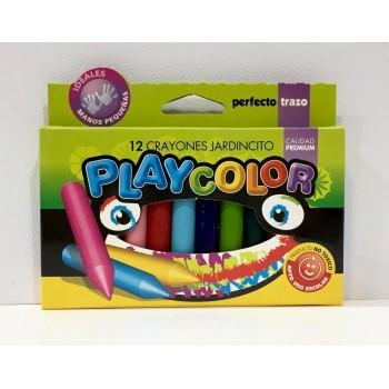 Crayones Playcolor x12