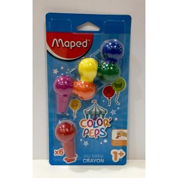 """Crayones Maped x6 """"Baby..."""