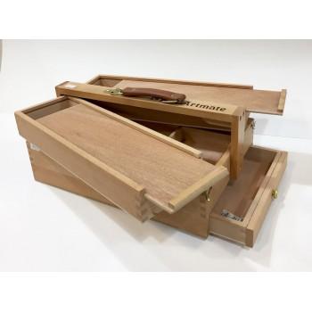 Caja para pintor de madera...