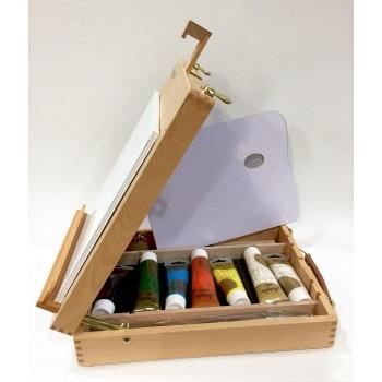 Caja de pintor con...