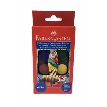Acuarelas Faber Castell x8