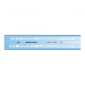 Letrógrafo Plantec 5 mm